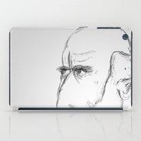 darwin iPad Cases featuring Charles Darwin by half of ten