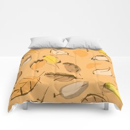 Arbutus leaves Comforters