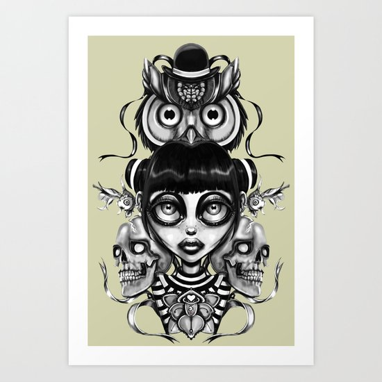 """""""Tattoeums II"""" Art Print"""