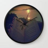 read Wall Clocks featuring Read by Yashika Walker