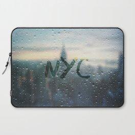 Rainy Day in NYC Laptop Sleeve
