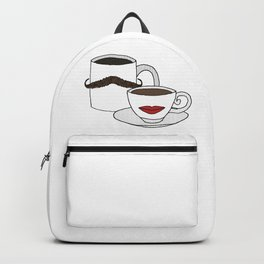 The Caffeinated Couple Backpack