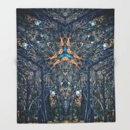 Avatar of Creation No 1 Throw Blanket
