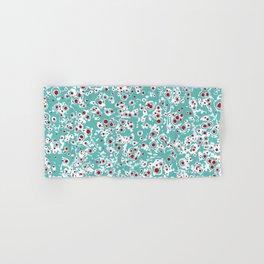 red wild dots Hand & Bath Towel
