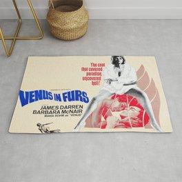 Vintage Film Poster- Venus in Furs (1967) Rug