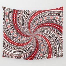Romanian pattern Wall Tapestry
