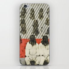 Will you still be here when this is necessary? iPhone Skin