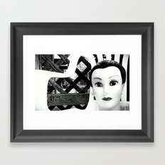 JAWN 2. Framed Art Print