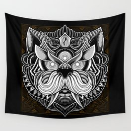 Javanese Ornate Dog Wall Tapestry