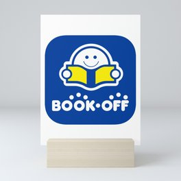 Book-Off (ブックオフ) Logo 01 Mini Art Print