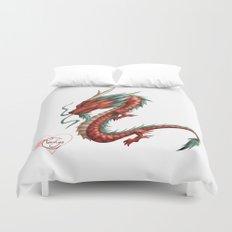 Dragon pure Duvet Cover