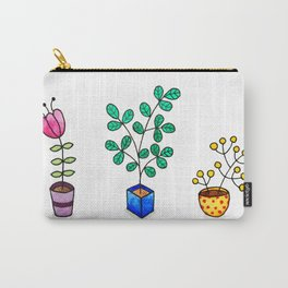 Flower pots Carry-All Pouch