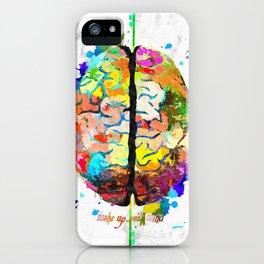 Human Brain iPhone Case