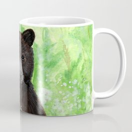 Cinnamon Black Bear Cub Coffee Mug