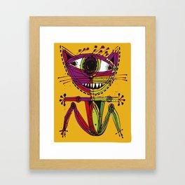 serge-pichii-cat-0207 Framed Art Print