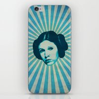leia iPhone & iPod Skins featuring Leia by Durro