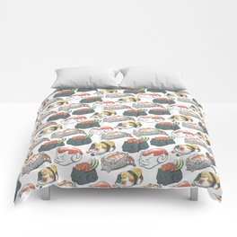 Sushi Cats Comforters