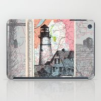 maine iPad Cases featuring Maine by Ursula Rodgers