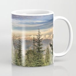 """""""Wildderness"""". Adventure at the mountains... Coffee Mug"""