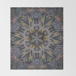 Flowers of Life Throw Blanket