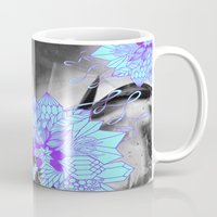 geode Mugs featuring Geode 1 by michiko_design