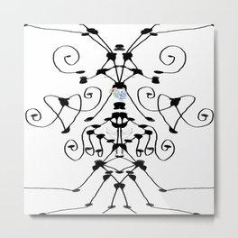 Hopeful Lines Metal Print