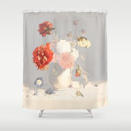 Inevitable outcomes Shower Curtain