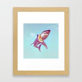 Lemon Shark Framed Art Print