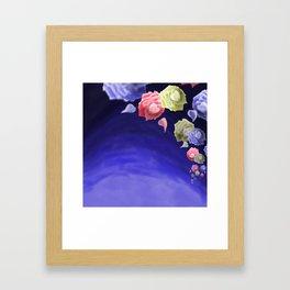 Night Roses Framed Art Print