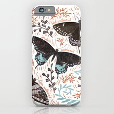 Swallowtail Butterflies Slim Case iPhone 6s