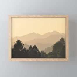 NAPA VALLEY Framed Mini Art Print