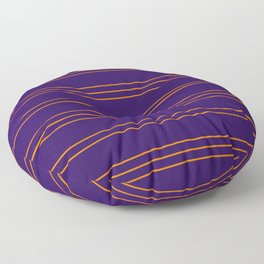 Simple Lines Pattern po Floor Pillow