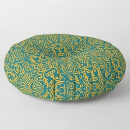 Tribal Patterns Floor Pillow