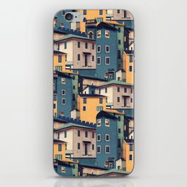 Night Castles (Pattern) iPhone Skin