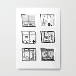 Every Window is A Story Metal Print
