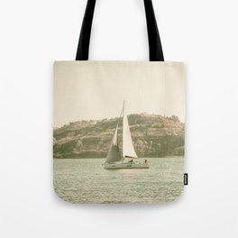 la voile sur le Tage, Lisbonne Tote Bag