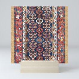 Kolyai  Antique South Kurdistan Persian Rug Print Mini Art Print