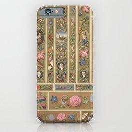 Renaissance Ornament iPhone Case