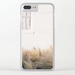 Marfa Minimalism Clear iPhone Case
