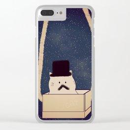 cat-157 Clear iPhone Case