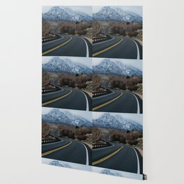 Blue Mountain Road Wallpaper