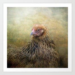 In a Fowl mood... Art Print