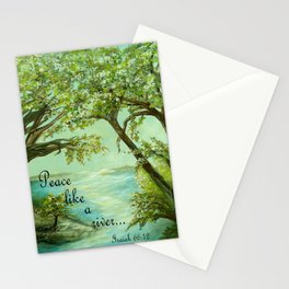 Peace Like a River Stationery Cards
