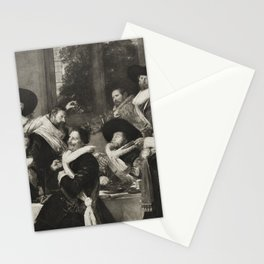 The Officers of the Corps of St Adriaen Stationery Cards