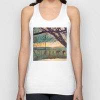 horses Tank Tops featuring horses by Jake Reedy