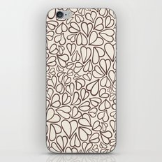 Hearts clear iPhone & iPod Skin