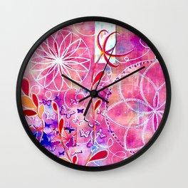 Finding Center Wall Clock