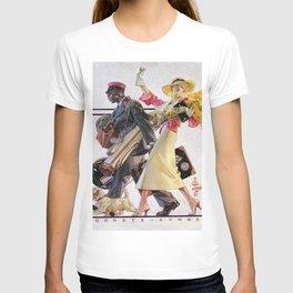 12,000pixel-500dpi - Joseph Christian Leyendecker - Goodbye Summer - Digital Remastered Edition T-shirt