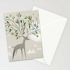 Deer Forest Stationery Cards