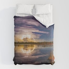 Lightening and Stars - a perfect combination Comforters